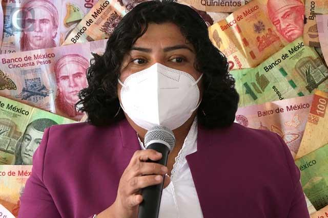 Karina Pérez dice tener en orden sus cuentas ante la ASE