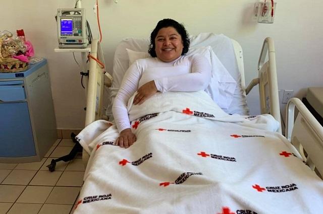 Ayuntamiento reembolsa 103 mil pesos a Karina Pérez por gastos médicos