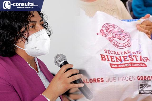 Karina Pérez dobletea precio de despensas de Valores a tu Mesa