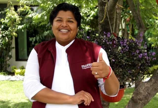Mi designación no generó fractura en Morena: Karina Pérez