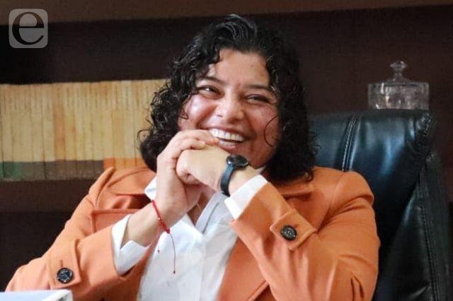 Que hagan hechos sus palabras mis oponentes: Karina Pérez