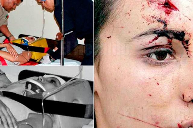 Capturan a ex jefe de la policía por golpear a una periodista