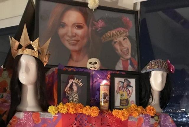 Mira el altar de muertos que le dedicaron a Karla Luna y qué le pusieron