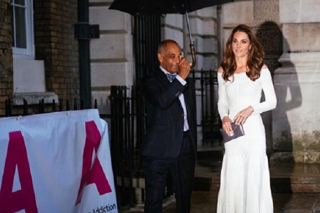 Kate Middleton asistió a la cena de la Acción contra la Adicción
