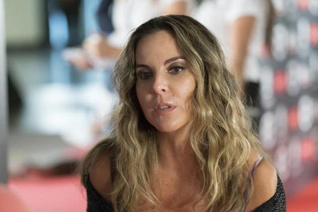 Kate del Castillo sufre percance durante grabación de serie