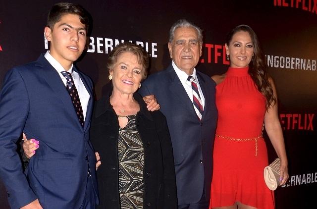 Familia de Kate del Castillo le pide cancele película sobre El Chapo Guzmán