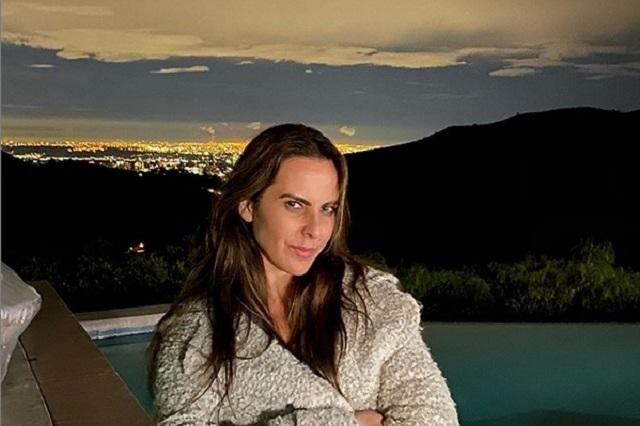 ¿Kate del Castillo preocupada por la falta de botox en su rostro?