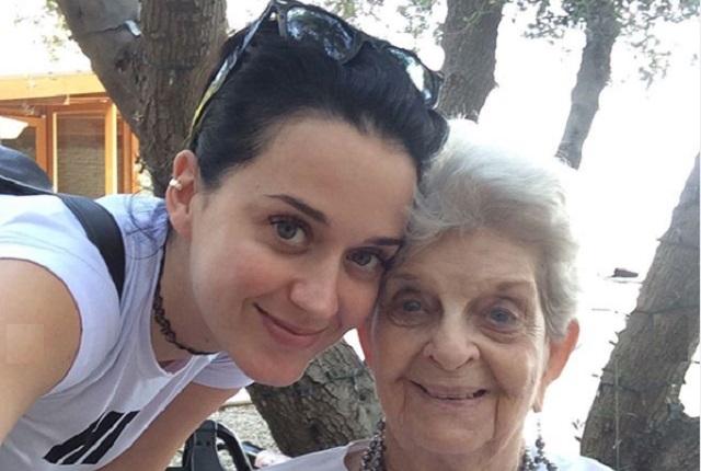 Katy Perry despide con conmovedor mensaje a su fallecida abuela