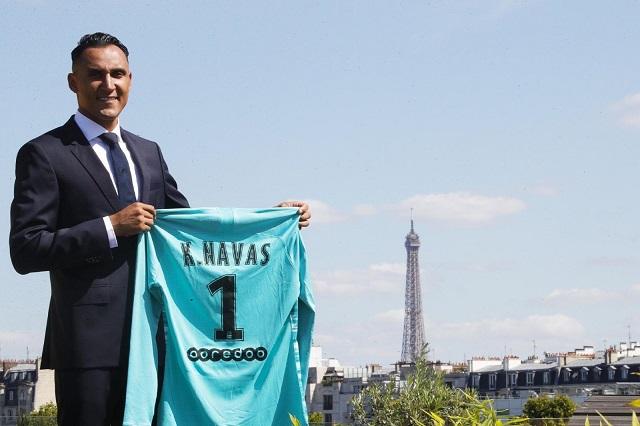 Keylor Navas llega al PSGy seguirá en zona Champions