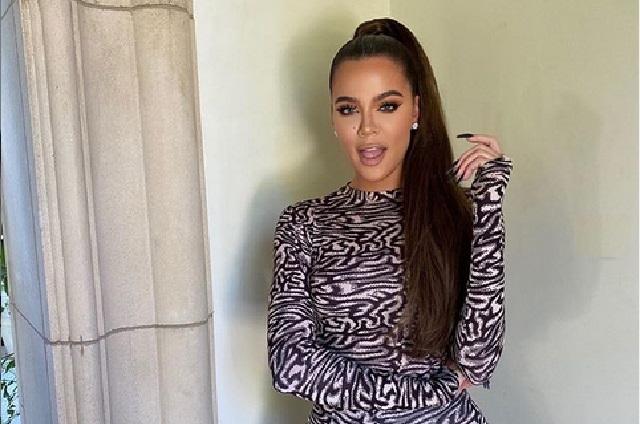 Khloé Kardashian confirma haber dado positivo a Covid-19