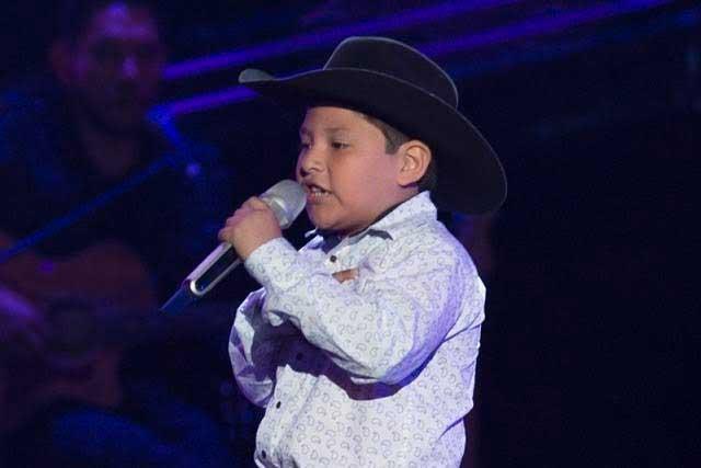 Niño de siete años cautiva a los jueces de La Voz Kids