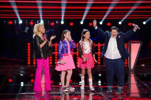 Amadeus, Eduardo, Sara, Ildikó, René y Ponchito avanzan en La Voz Kids
