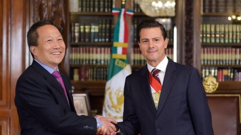 El gobierno mexicano expulsa al embajador de Corea del Norte