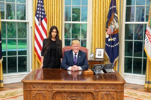 Donald Trump y Kim Kardashian ¿juntos en la Casa Blanca?