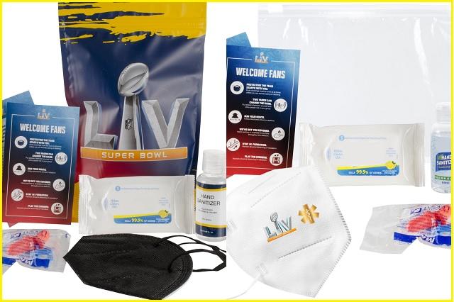 Super Bowl LV: NFL entregará a aficionados sus propios kits anti COVID