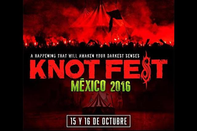 Confirma segunda edición del Knot Fest