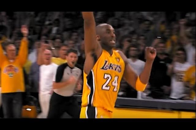 Los Ángeles Lakers realizan un homenaje especial a Kobe Bryant