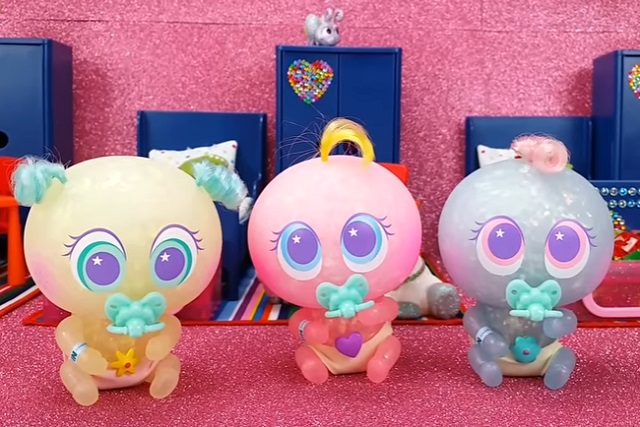 ¿Blitter de los Ksimerito Glito es niño o niña? Es azul y tiene cabello rosa