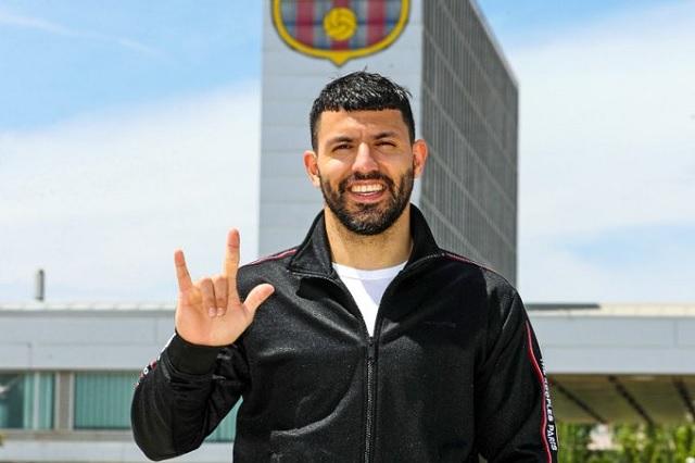 ¡Ya es culé! Sergio 'Kun' Agüero jugará con Barcelona por 2 temporadas