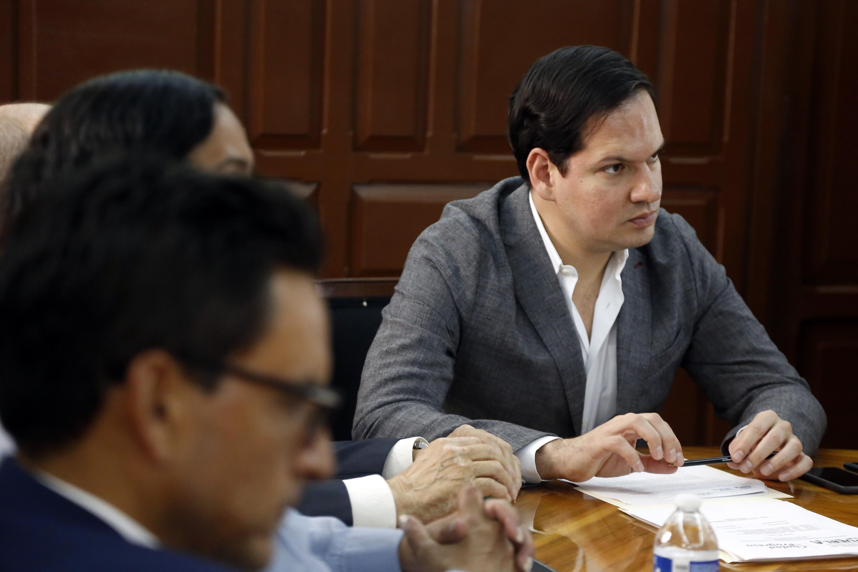 Presenta Kuri plan para reactivar la economía tras sismo