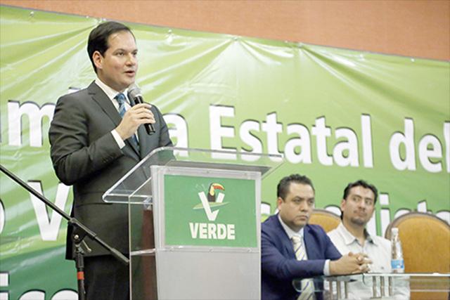 El Partido Verde, con resultados más que favorables: Juan Pablo Kuri