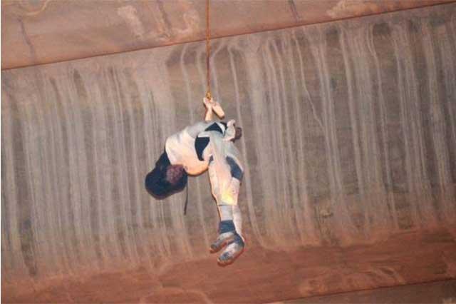 PGDF identifica al hombre que colgaron en el puente de La Concordia
