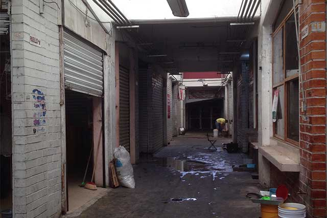 Comerciantes de La Merced piden apoyo para rehabilitar el mercado