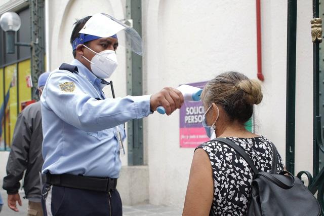 Reporta UNAM baja de contagios activos de Covid en Puebla