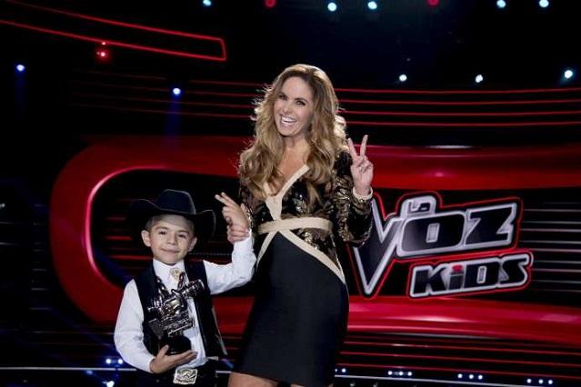Roberto Xavier, del Team Lucero gana La Voz Kids México 2019
