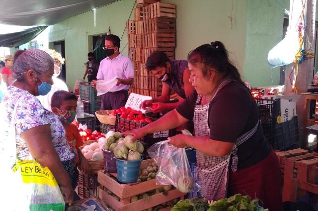 Vendedores de La Purísima ignoran medidas contra Covid