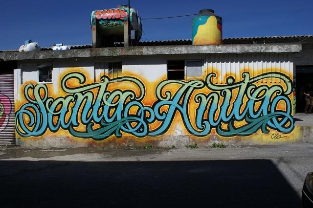 Finalizan intervención artística en el barrio Santa Anita