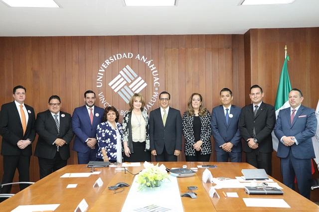 Universidad Anáhuac y Tribunal de Justicia Administrativa se vinculan