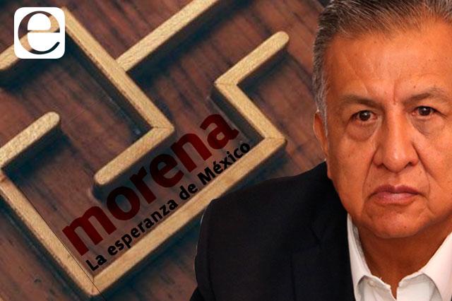 Sufre Morena por revés a candidaturas y caso Huerta