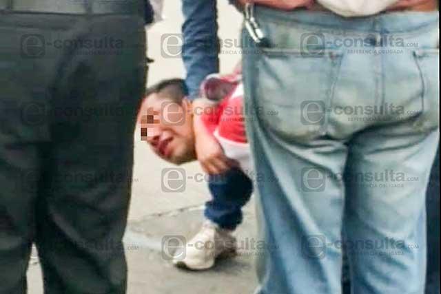 Ladrón libra golpiza luego de que atracó a embarazada en La Margarita