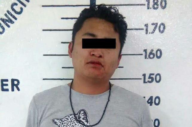 Tras persecución, detienen a ladrón de vehículo en San Pedro Cholula