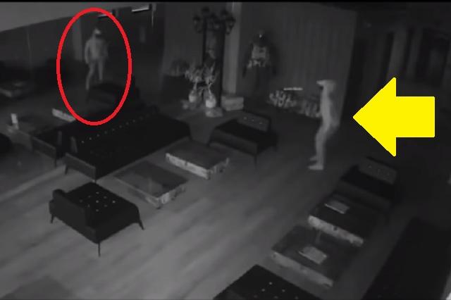 Ladrón entra a negocio y se espanta con su propio reflejo; terminó huyendo