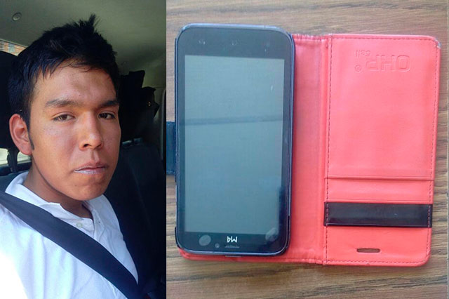 Ladrón arrebató celular a una mujer pero policías lo atraparon