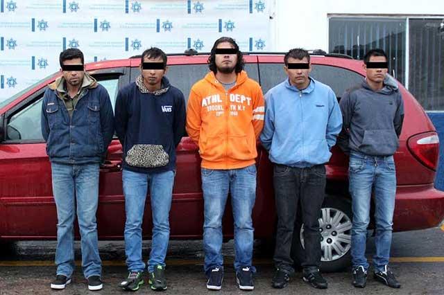 Atrapados, ladrones de casas ofrecieron cohecho a policías