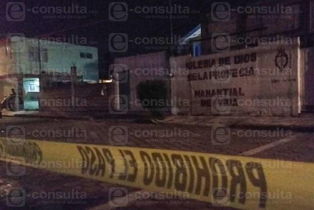 Ladrones matan a panadero al huir de un asalto en Puebla