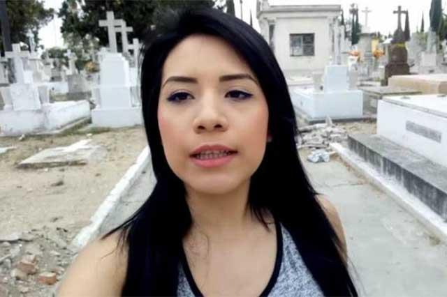 Janeth Rubio dice que video porno que grabó en panteón no es gratis