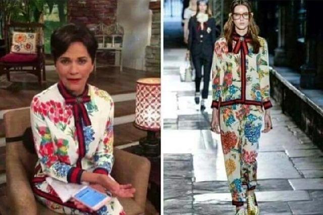 Paty Chapoy es llamada #LadyGucci por usar vestido de 70 mil pesos