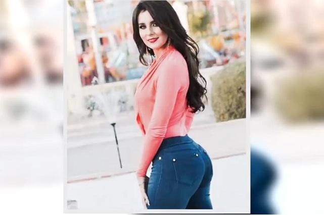 Video en YouTube: Lady Movimiento Naranja quedó en topless y mostró más