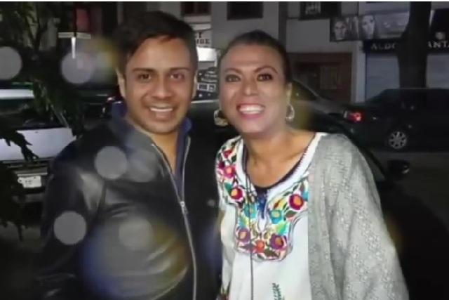 Difunden foto con de Lady Tacos sin maquillaje y revelan su identidad