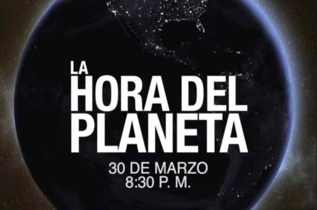 Súmate a la Hora del Planeta este 30 de marzo