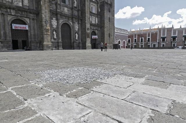 Minimiza Barbosa daños a la Catedral por la Capilla Sixtina