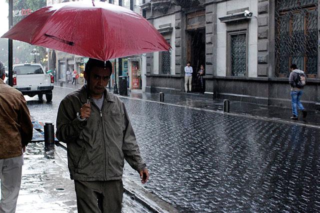 Se esperan lluvias de moderadas a fuertes en fin  de semana