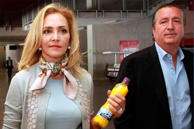 Su esposa demanda a Jorge Vergara por crimen organizado