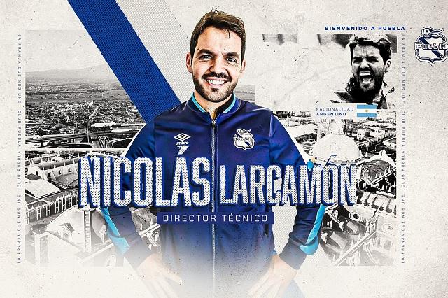 Oficial: Puebla presenta a Nicolás Larcamón como su nuevo DT