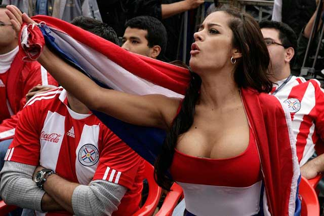 Larissa Riquelme, la novia del mundial, ha transformado su imagen