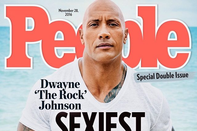 La Roca es el hombre más sexy del mundo